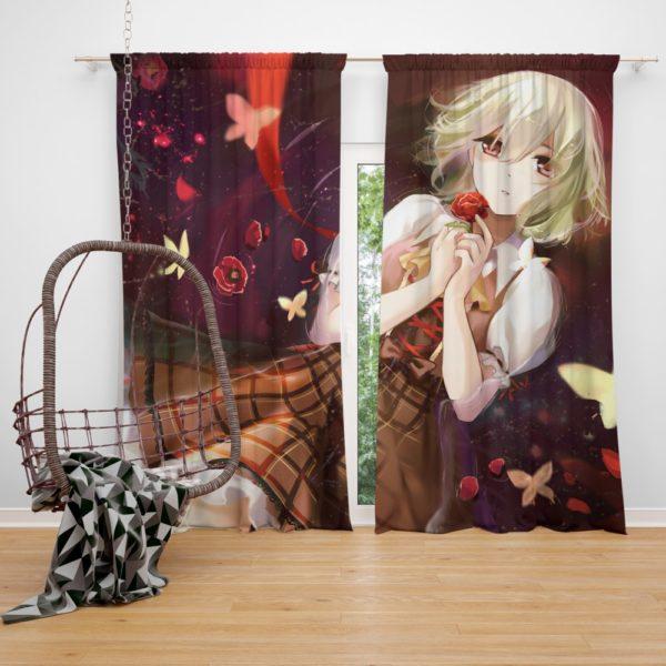 Yuuka Kazami Touhou Japanese Anime Girl Bedroom Window Curtain