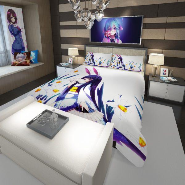 Anime Girl Violet Comforter 3