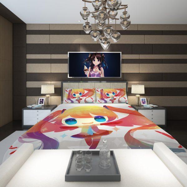Anime Girl Vocaloid Comforter 2