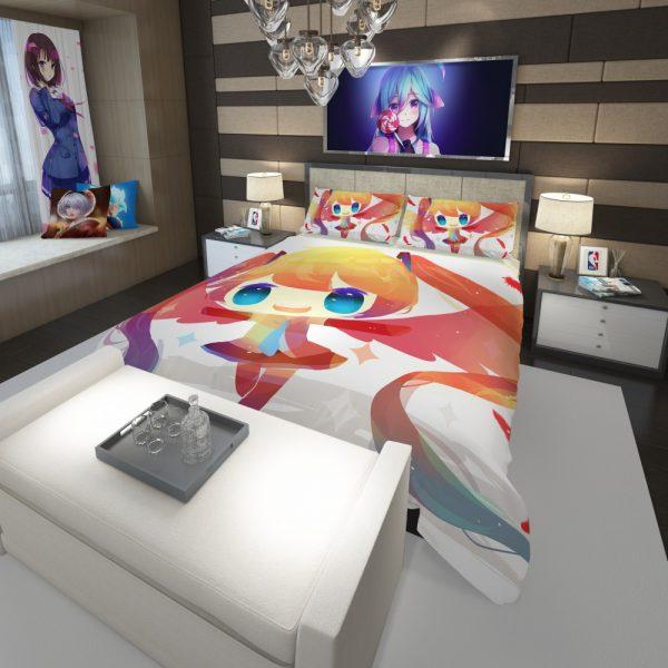 Anime Girl Vocaloid Comforter 3