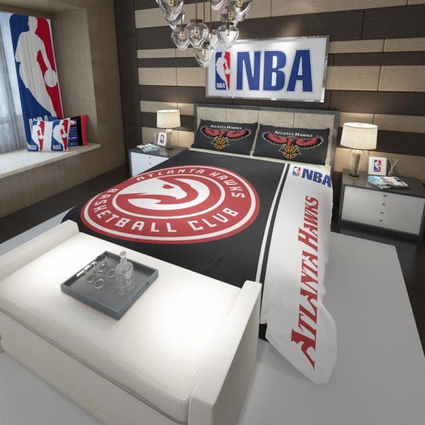 Atlanta Hawks NBA Basketball Comforter 3