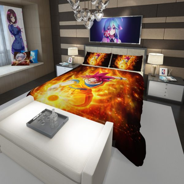 Beautiful Japanese Custom Anime Girl Comforter 3