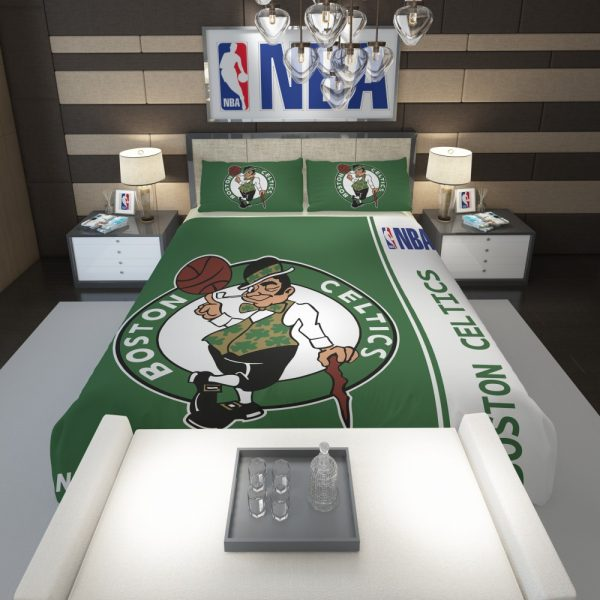 Boston Celtics NBA Basketball Comforter 1