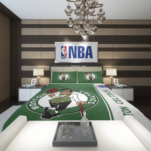 Boston Celtics NBA Basketball Comforter 2
