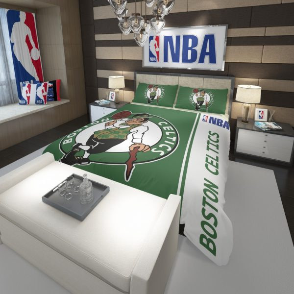 Boston Celtics NBA Basketball Comforter 3
