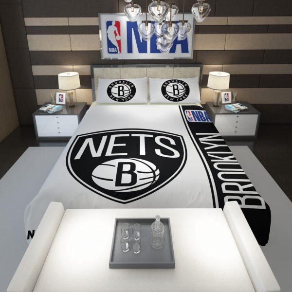 Brooklyn Nets NBA Basketball Comforter 1