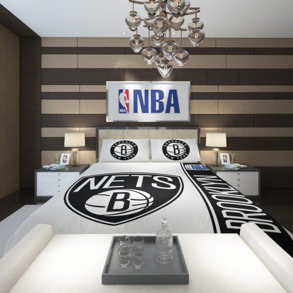 Brooklyn Nets NBA Basketball Comforter 2