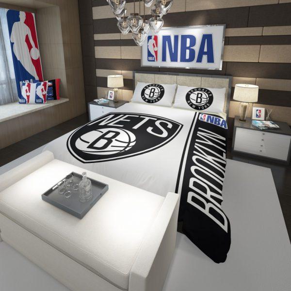 Brooklyn Nets NBA Basketball Comforter 3