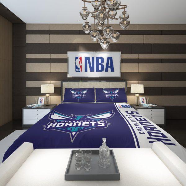 Charlotte Hornets NBA Basketball Comforter 2