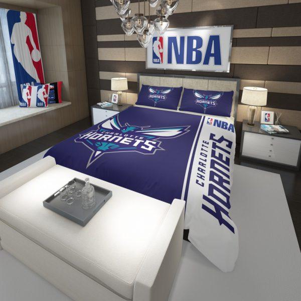 Charlotte Hornets NBA Basketball Comforter 3