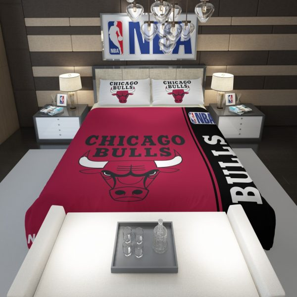 Chicago Bulls NBA Basketball Comforter 1