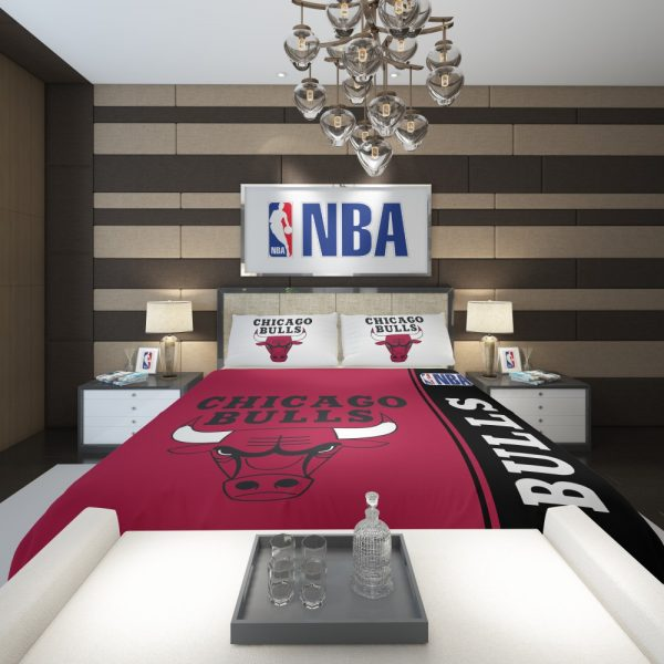 Chicago Bulls NBA Basketball Comforter 2