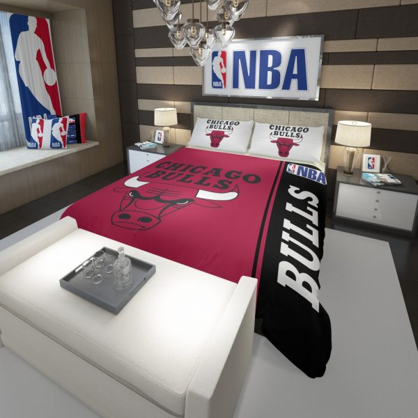 Chicago Bulls NBA Basketball Comforter 3