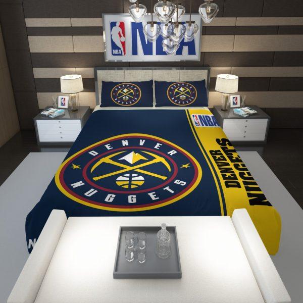Denver Nuggets NBA Basketball Comforter 1