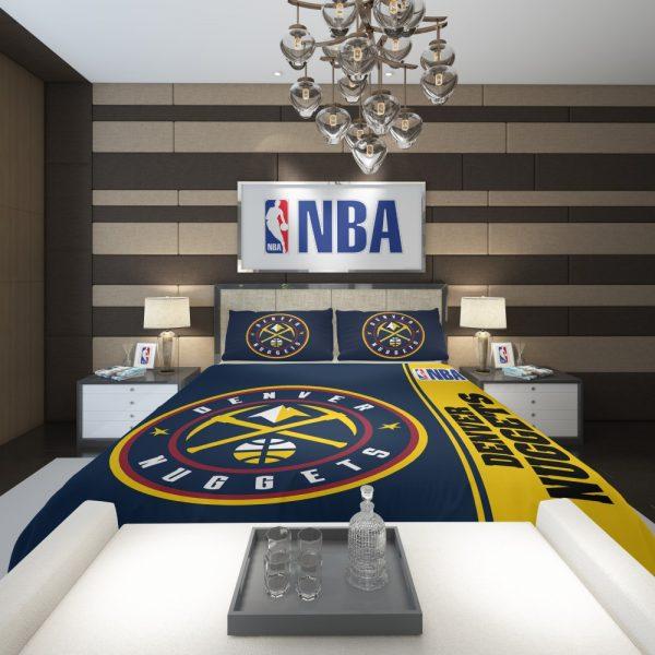 Denver Nuggets NBA Basketball Comforter 2