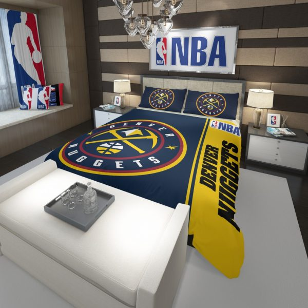 Denver Nuggets NBA Basketball Comforter 3
