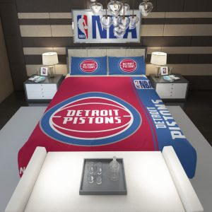 Detroit Pistons NBA Basketball Comforter 1