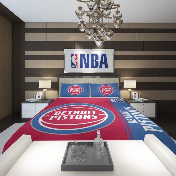 Detroit Pistons NBA Basketball Comforter 2