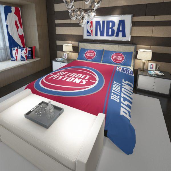 Detroit Pistons NBA Basketball Comforter 3