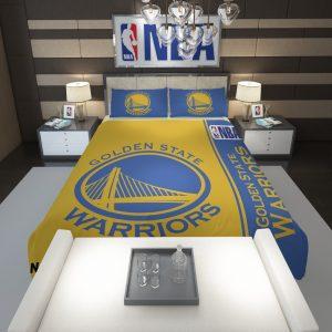 Golden State Warriors NBA Basketball Comforter 1