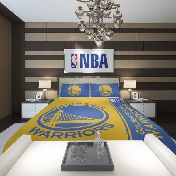 Golden State Warriors NBA Basketball Comforter 2