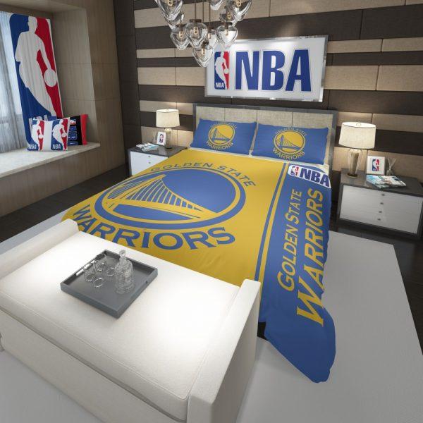 Golden State Warriors NBA Basketball Comforter 3