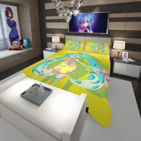 Hatsune Miku Vocaloid Japanese Anime Comforter 3