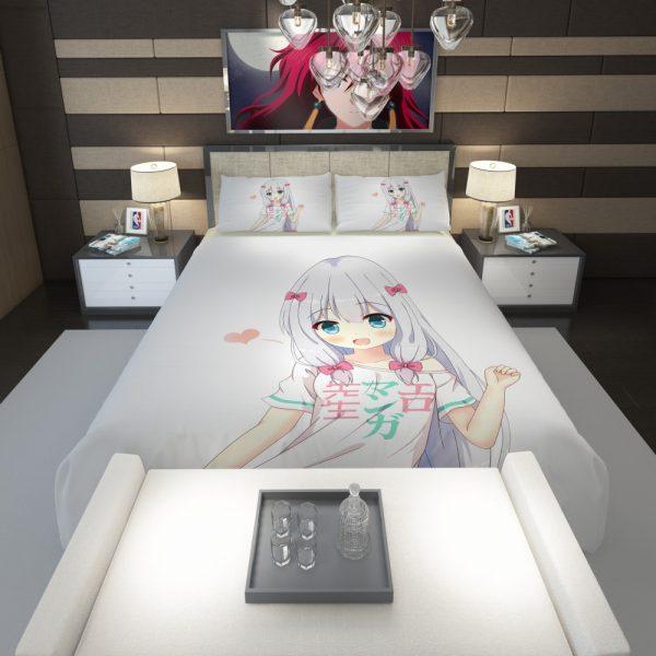 Izumi Sagiri Eromanga Sensei Comforter 1