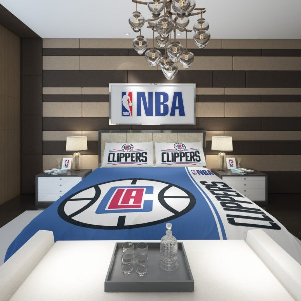 LA Clippers NBA Basketball Comforter 2
