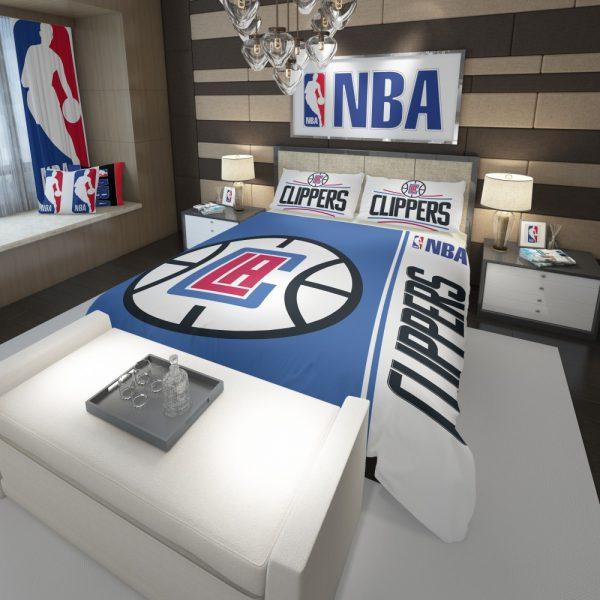 LA Clippers NBA Basketball Comforter 3