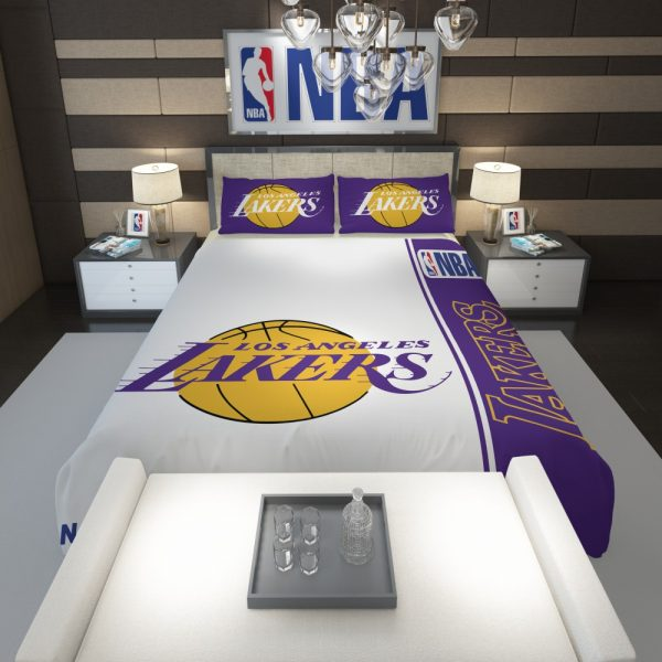 Los Angeles Lakers NBA Basketball Comforter 1