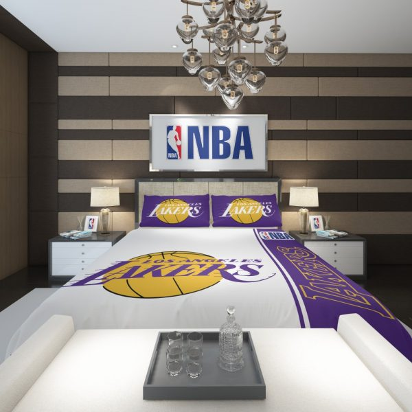 Los Angeles Lakers NBA Basketball Comforter 2