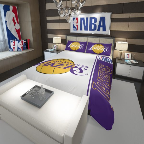 Los Angeles Lakers NBA Basketball Comforter 3