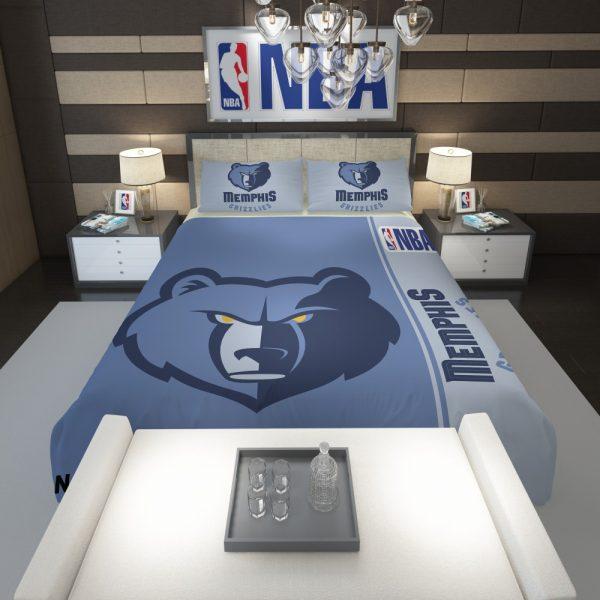 Memphis Grizzlies NBA Basketball Comforter 1