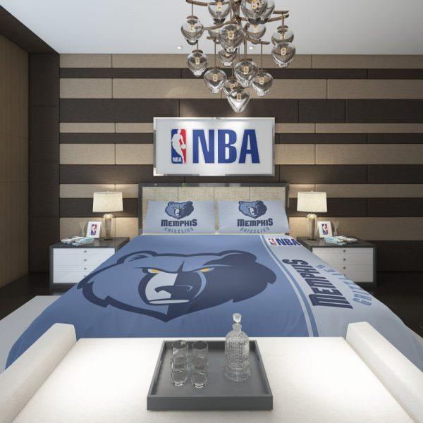 Memphis Grizzlies NBA Basketball Comforter 2