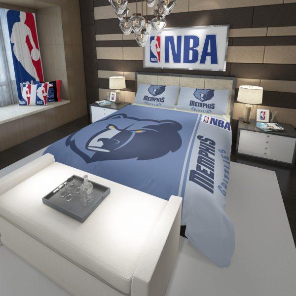 Memphis Grizzlies NBA Basketball Comforter 3