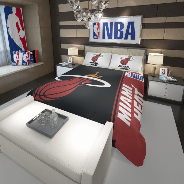 Miami Heat NBA Basketball Comforter 3