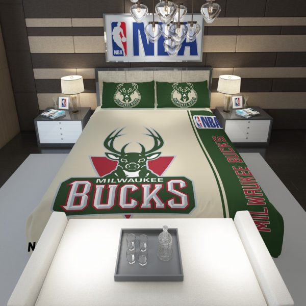 Milwaukee Bucks NBA Basketball Comforter 1