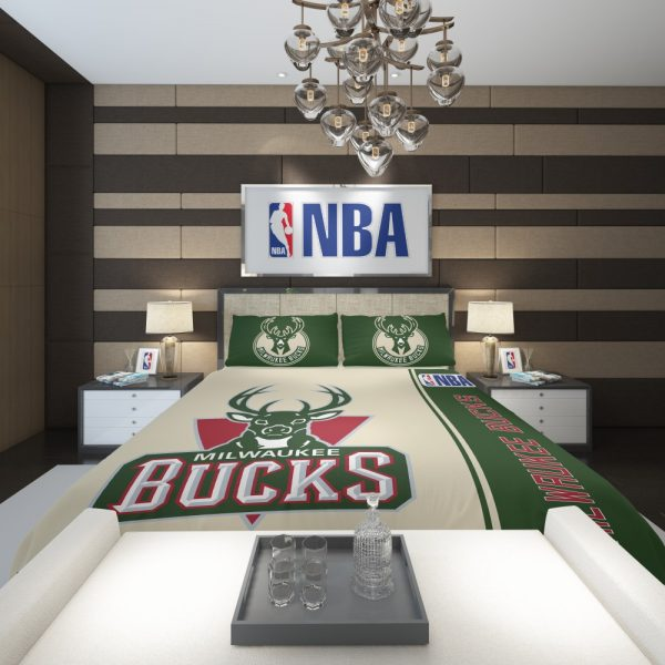 Milwaukee Bucks NBA Basketball Comforter 2
