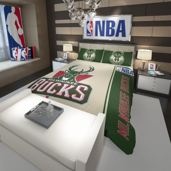 Milwaukee Bucks NBA Basketball Comforter 3