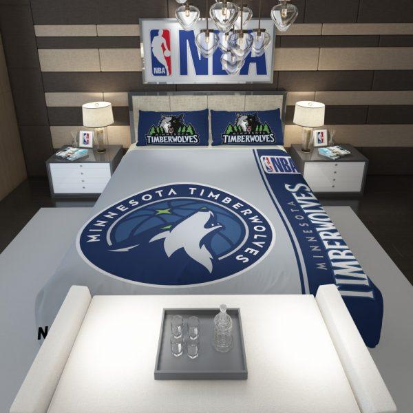 Minnesota Timberwolves NBA Basketball Comforter 1