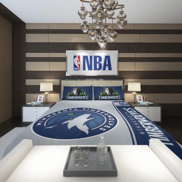 Minnesota Timberwolves NBA Basketball Comforter 2