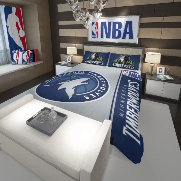 Minnesota Timberwolves NBA Basketball Comforter 3