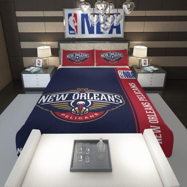 New Orleans Pelicans NBA Basketball Comforter 1