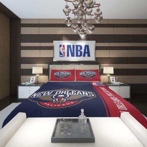 New Orleans Pelicans NBA Basketball Comforter 2