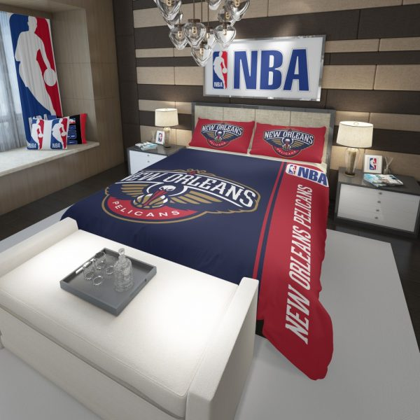 New Orleans Pelicans NBA Basketball Comforter 3