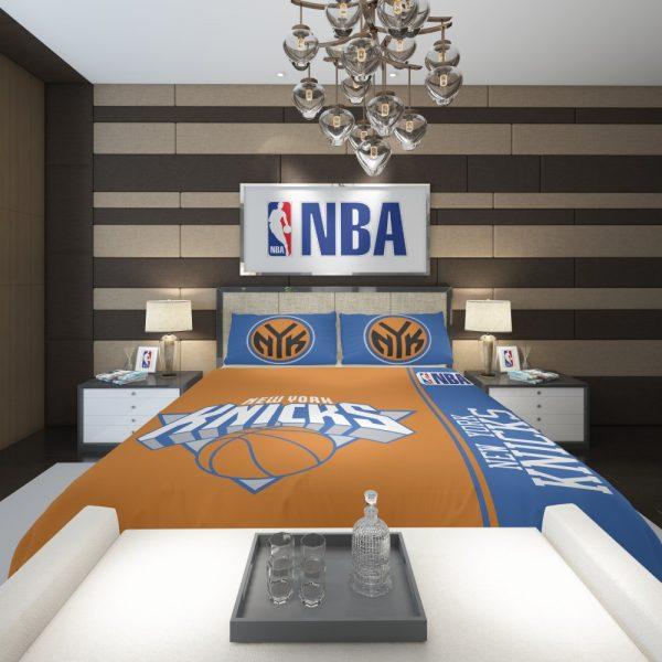 New York Knicks NBA Basketball Comforter 2