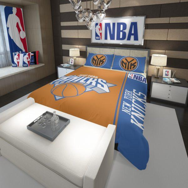 New York Knicks NBA Basketball Comforter 3