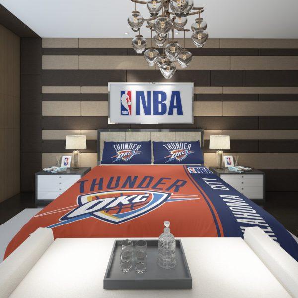 Oklahoma City Thunder NBA Basketball Comforter 2