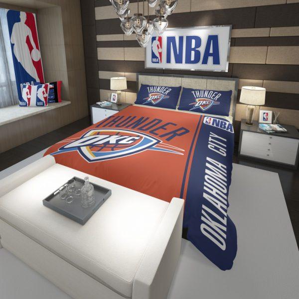 Oklahoma City Thunder NBA Basketball Comforter 3